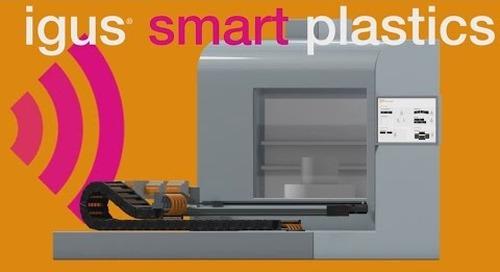 Eliminate unplanned downtime. smart plastics - predictive maintenance.