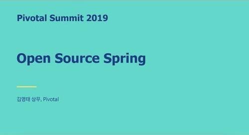 서울 - Open Source Spring - 김영태 상무, Pivotal