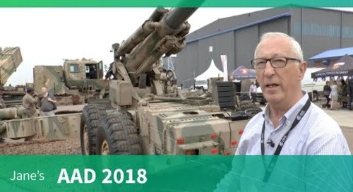 Denel Artillery Systems - G5 and G6 (AAD 2018)