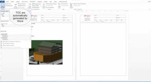 Creating a Project File in Tekla Tedds For Word