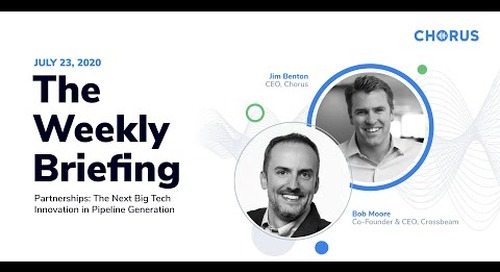 The Weekly Briefing - Next Big Innovation: Partnerships