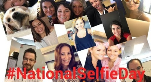 Some of the faces of Axway! | National Selfie Day 2018