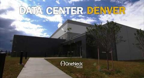 OneNeck data center in Denver, CO