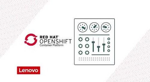 Lenovo DevOps with OpenShift Solution™