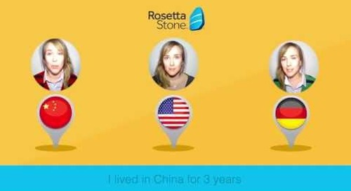 Rosetta Stone Catalyst: Nancy's Story