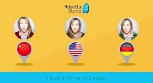 Rosetta Stone Catalyst: Nancy's Story