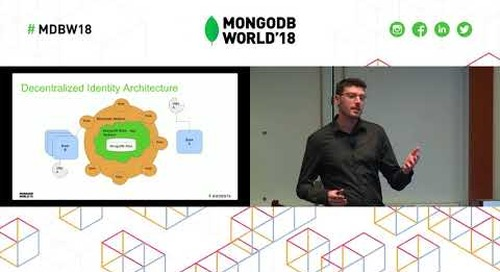 Decentralized Identity Management with Blockchain and MongoDB