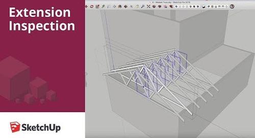 SketchUp Extension Inspection: Medeek Truss Plugin
