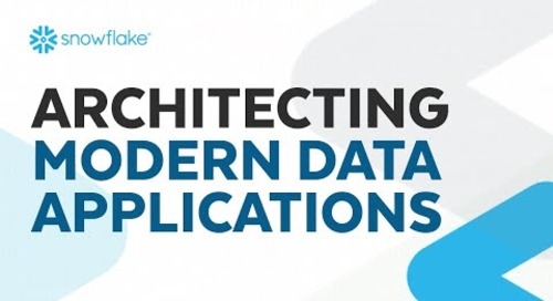 Webinar: Architecting Modern Data Applications