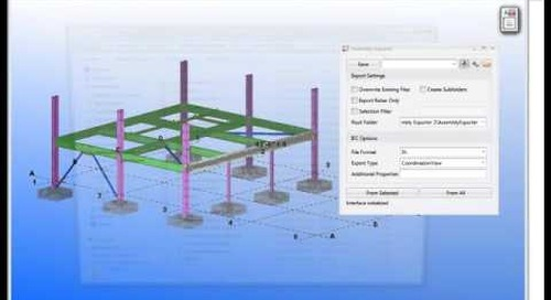 Tekla Structures Assembly Exporter
