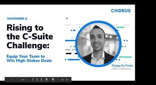 Rising to the C-Suite Challenge: Equip Your Team to Win High Stakes Deals