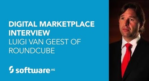Digital Marketplace Luigi Van Geest of Roundcube