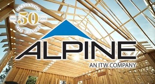 Alpine 50 Years of Building Success