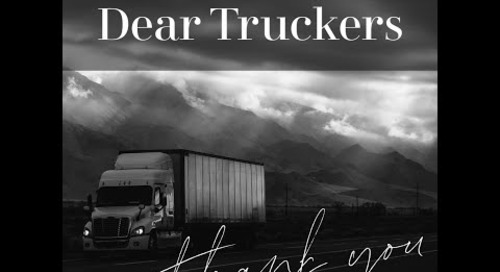 Thank You Truckers!  From TAB Bank