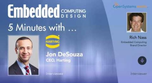 Five Minutes With… Jon DeSouza, CEO, Harting