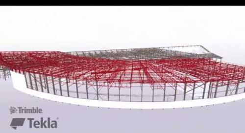 Tekla France BIM Awards 2016 - CMBC : Usine Production Transfix