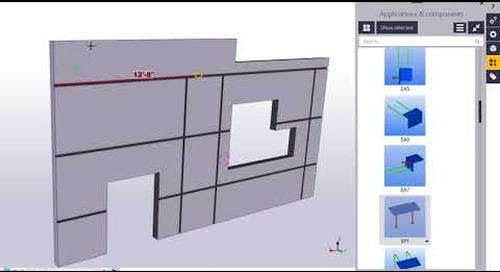 Introduction to Tilt up for Tekla Structures