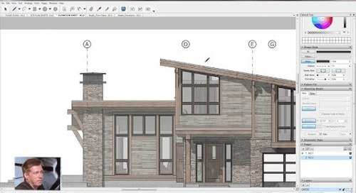 SketchUp for Construction Documentation: Adding Gridlines