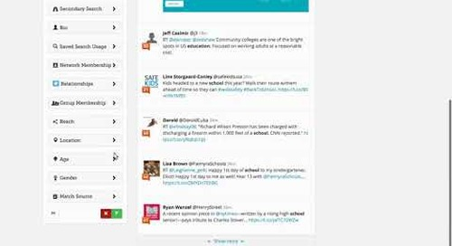 Blackbaud Attentive.ly: Review and Respond to Tweets
