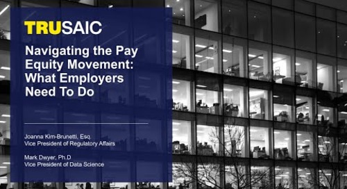 Navigating the Pay Equity Movement: What Employers Need To Do