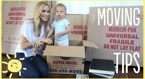 DIY | Must Have Moving Tips!