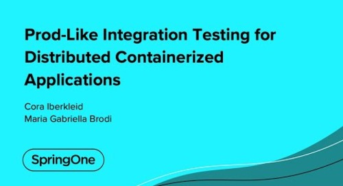 Prod-Like Integration Testing for Distributed Containerized Applications