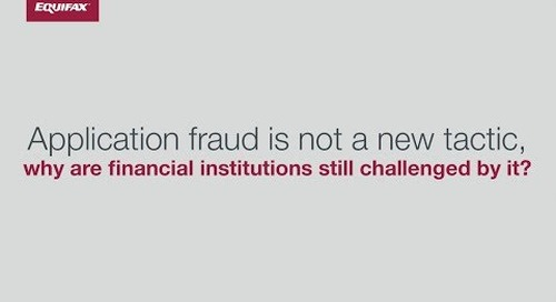 Top Fraud Challenges - Application Fraud