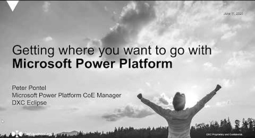 Getting where you want to go with Microsoft Power Platform