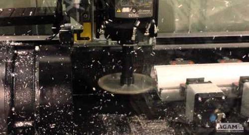 Aluminum Machining Center Capability Video #1