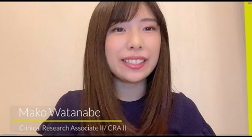 Meet Mako Watanabe - Clinical Research Associate II