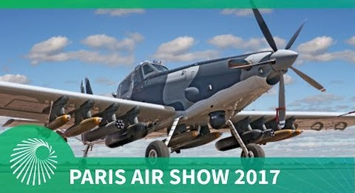 Paris Air Show 2017: The AT-802L Longsword from L3 Technologies