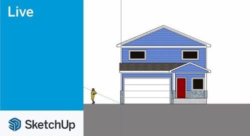 Modeling Building Facades in SketchUp Live!