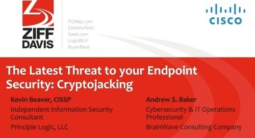 The Latest Threat to your Endpoint Security: Cryptojacking