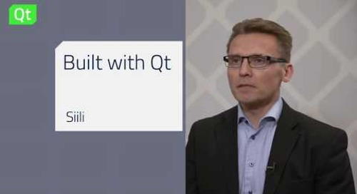 Siili Solutions design and develop faster with Qt, Built with Qt Keynote @QtWS18