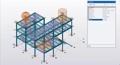 Open Structure Wind Loading in Tekla Structural Designer