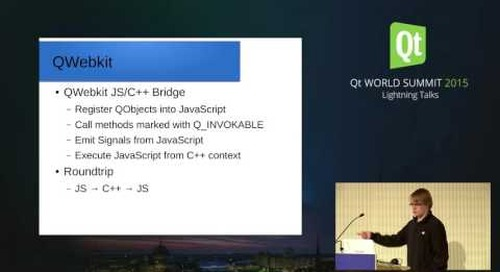 NEW-QtWS15- How I integrated TinyMCE into my QtApplication, Jens Weller, Meeting C++