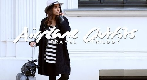 Airplane Outfits - Travel Trilogy