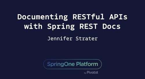 Documenting RESTful APIs with Spring REST Docs - Jenn Strater, Zenjob
