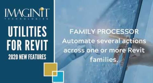 Utilities for Revit Family Processor
