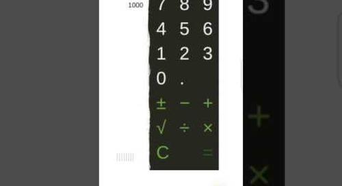 Calculator sample