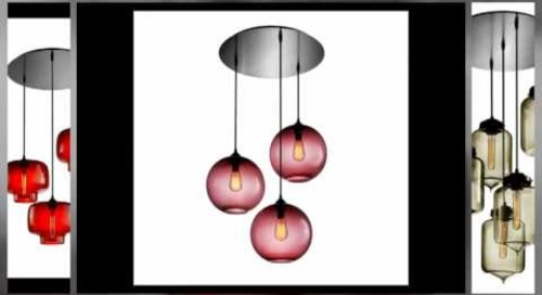 Circular Multi-Pendant Light