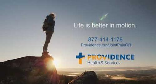 Providence Orthopedics 30 Medford OR TV market