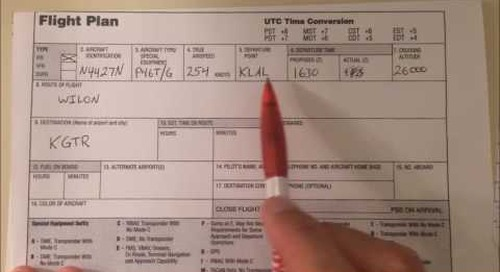 IFR Clearance Practice for General Aviation