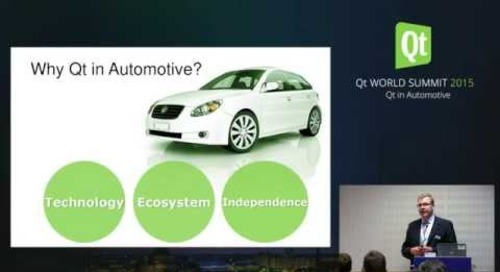 QtWS15- How Qt Meets the Automotive Technology Requirements of Today...
