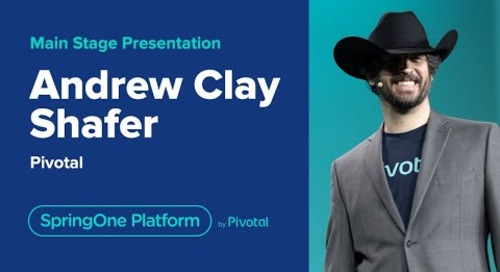 Andrew Clay Shafer at SpringOne Platform 2019