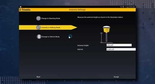 Trimble SitePulse: GNSS RTK Setup