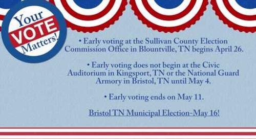 Bristol TN Municipal Election