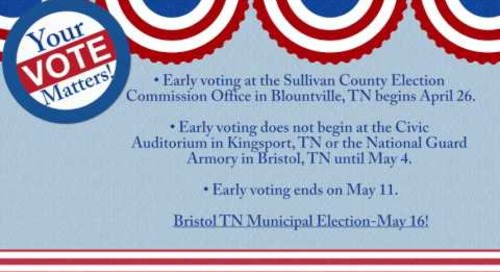 Bristol TN Municipal Election