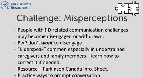Parkinson's Caregiver Virtual Event