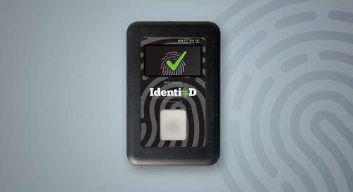 IdentiD: One Touch Authentication for Copiers & MFPs